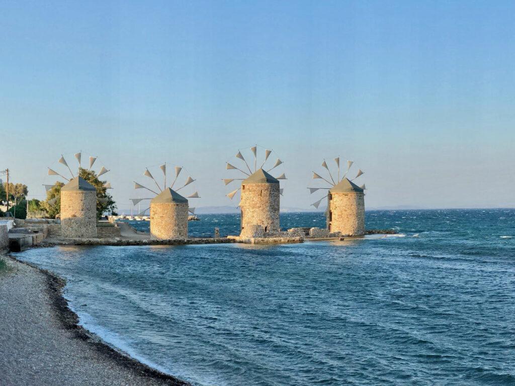 Chios, mlýny