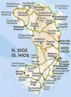 Chios domov mastichy masticha ostrov
