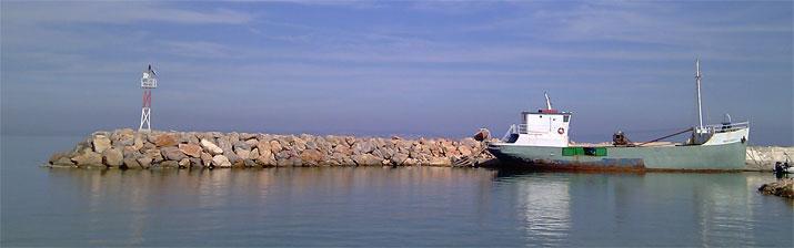 Chios přístav