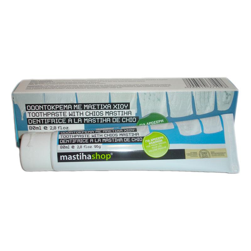 Masticha zubní pasta