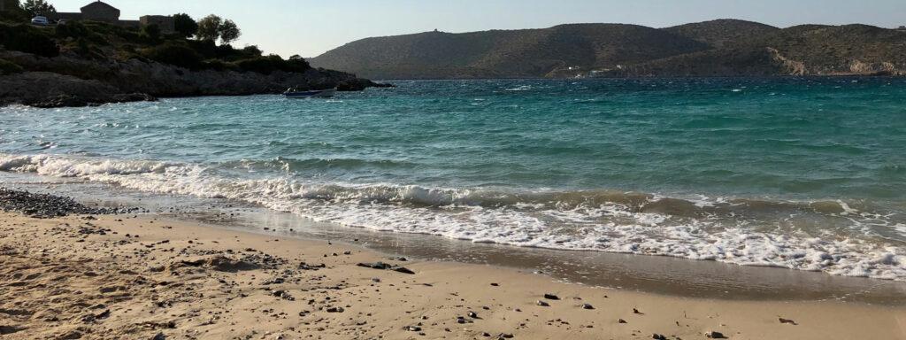 Agia Dinami, Chios, chioská pláž