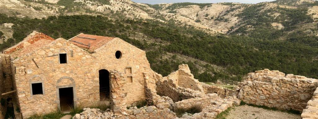 Anavatos, Chios, chioská vesnice duchů