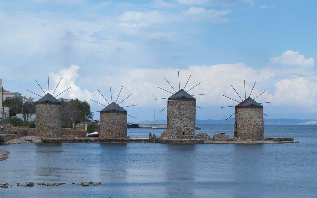 Chios mlýny, domov mastichy
